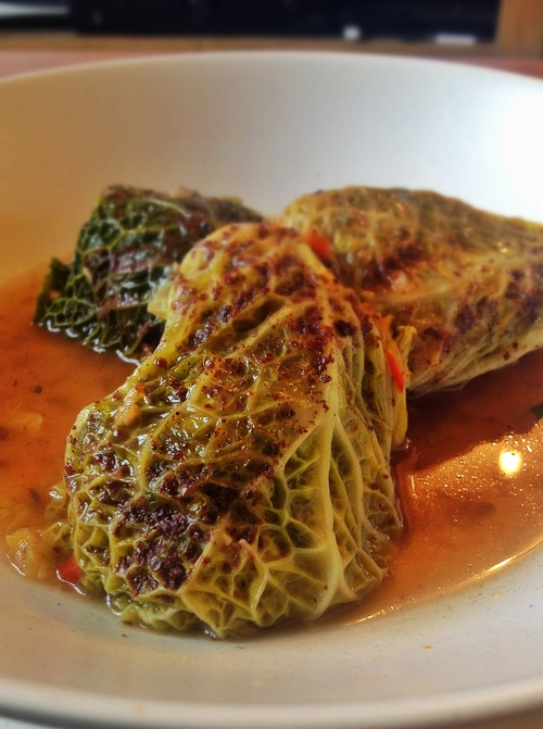 Savoury Stuffed Savoy Cabbage Parcels The Vegan Household