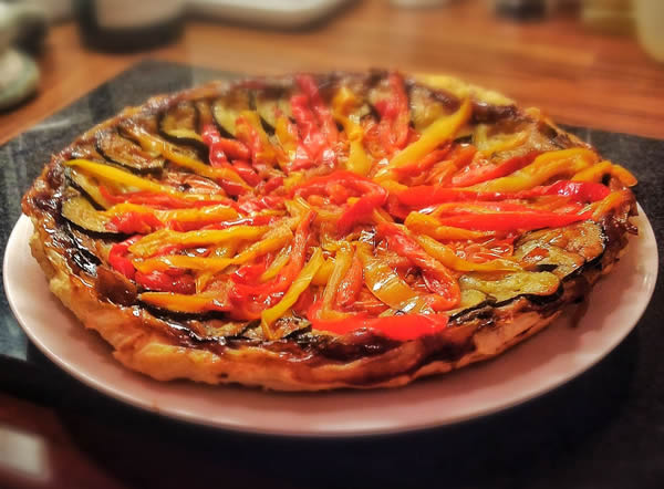 Caramelised Red Onion and Roasted Vegetable Tarte Tatin_2139641436_o