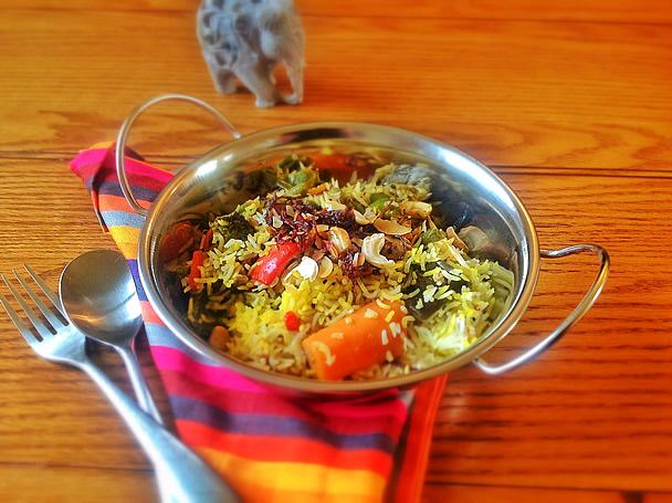 Gourmet Vegetable Biryani