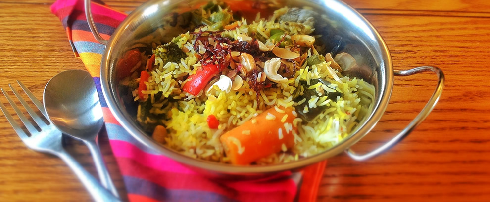 Gourmet Vegetable Biryani