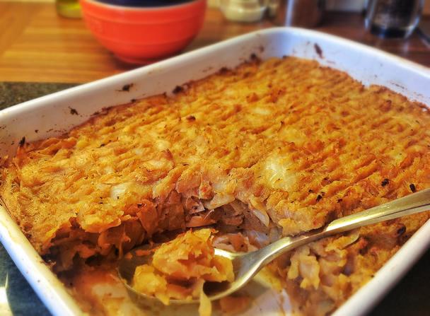 cabbage and potato bake