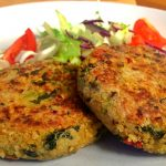 Quinoa and Kale Cakes