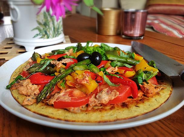 farinata sliced with grilled farinata sliced with grilled farinata ...
