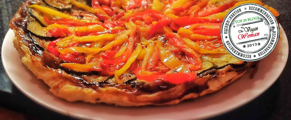 Caramelised Red Onion and Roasted Vegetable Tarte Tatin