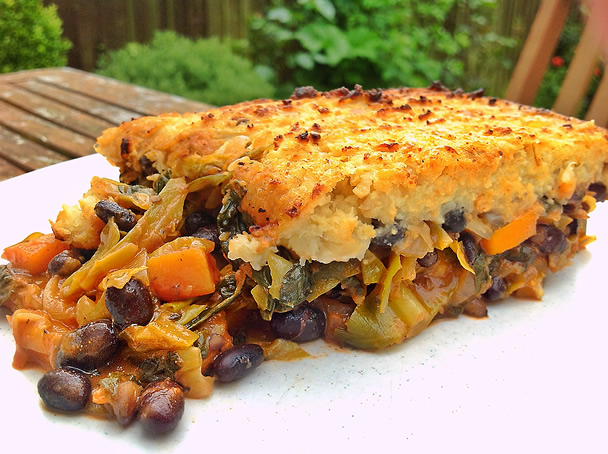 Black Bean And Vegetable Cottage Pie The Vegan Household