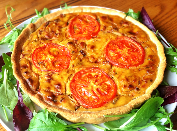 The Gourmet Vegan Can T Tell The Difference Quiche The Vegan Household